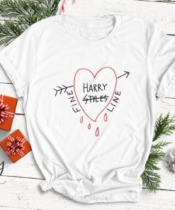 Hip Hop Harry Styles T shirt Fine Line Love on Tour Women treat people with kindness 2