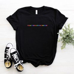 Hip Hop Harry Styles T shirt Fine Line Love on Tour Women treat people with kindness