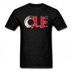 Hiphop T shirt Men Cleveland Ohio CLE Indians T Shirt 2019 New Coming Cotton Tshirt Male