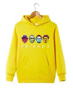 Horror Friends Squad Friday The 13th hoodie Sweatershirt Massacre Hoodie Halloween Horror Movie Hoodie Halloween Gift 1