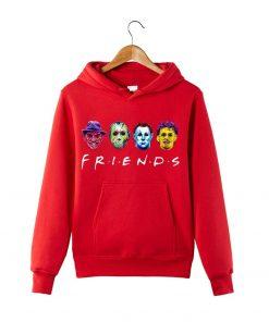 Horror Friends Squad Friday The 13th hoodie Sweatershirt Massacre Hoodie Halloween Horror Movie Hoodie Halloween Gift 2