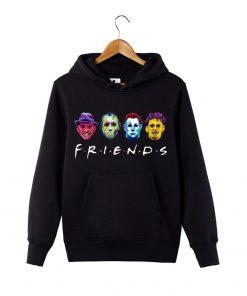 Horror Friends Squad Friday The 13th hoodie Sweatershirt Massacre Hoodie Halloween Horror Movie Hoodie Halloween Gift