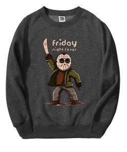Horror Prison Friday The 13th Hoodie Men Hipster Hooded Streetwear 2019 Autumn Winter Fleece Men s 2
