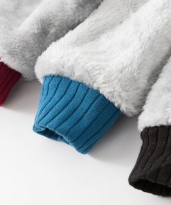 Horrorr Prison Friday The 13th Print Hoodies Men 2019 Winter Warm Fleece Raglan Sleeve Sweatshirts Men 3