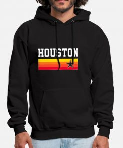 Houston Baseball Throwback Astro Vintage Stripes Hoodie Houston Astro Throwback Baseball Vintage Astros Water Floyd Prog