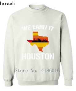 Houston Baseball Throwbacks Retro Astro Stripe Shir Sweatshirt Family Letters Designing Printed Cotton Spring Pullover 1