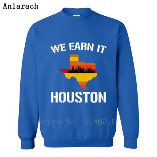 Houston Baseball Throwbacks Retro Astro Stripe Shir Sweatshirt Family Letters Designing Printed Cotton Spring Pullover 2