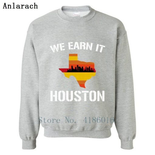 Houston Baseball Throwbacks Retro Astro Stripe Shir Sweatshirt Family Letters Designing Printed Cotton Spring Pullover 3