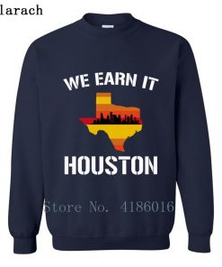 Houston Baseball Throwbacks Retro Astro Stripe Shir Sweatshirt Family Letters Designing Printed Cotton Spring Pullover 5