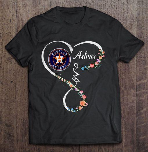 Houston Streetwear Harajuku 100 Cotton Men S Tshirt Astros Love Tshirts