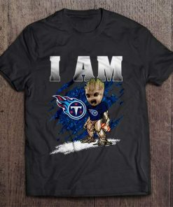 I Am Tennessee Streetwear Harajuku 100 Cotton Men S Tshirt Titans Groot Tshirts