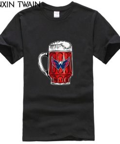 I LIKE TO DRINK BEER WATCH MY WASHINGTON CAPITALS ICE HOCKEY SHIRTS