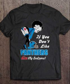 If You Don T Like Panthers Kiss My Endzone Carolina Streetwear Harajuku 100 Cotton Men S