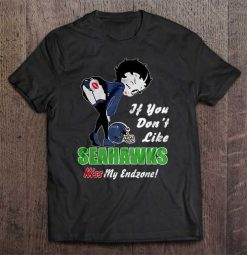 If You Don T Like Seahawks Kiss My Endzone Seattle Streetwear Harajuku 100 Cotton Men S