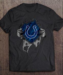 Indianapolis Streetwear Harajuku 100 Cotton Men S Tshirt Colts Tshirts