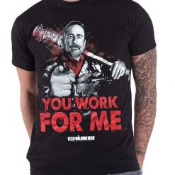 Interesting T Shirts Short T Shirt The Walking Dead You Work For Me Negan E Lucille