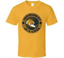 Intrument Of A Crime Nashville Catfish Predators Fan Hockey Gift T Shirt 6