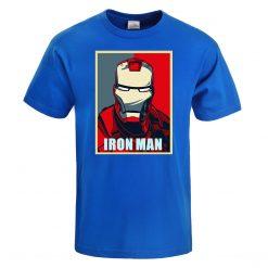 Iron Man T Shirt Men Fashion Brand Tony Stark T Shirt 2019 Summer Casual Cotton Tshirt 1