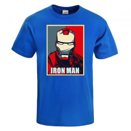 Iron Man T Shirt Men Fashion Brand Tony Stark T Shirt 2019 Summer Casual Cotton Tshirt 1