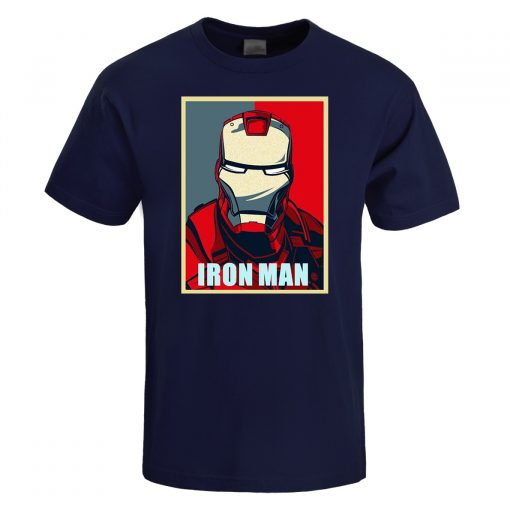 Iron Man T Shirt Men Fashion Brand Tony Stark T Shirt 2019 Summer Casual Cotton Tshirt 2