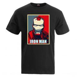 Iron Man T Shirt Men Fashion Brand Tony Stark T Shirt 2019 Summer Casual Cotton Tshirt
