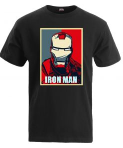 Iron Man T Shirt Men Fashion Brand Tony Stark T Shirt 2019 Summer Casual Cotton Tshirt