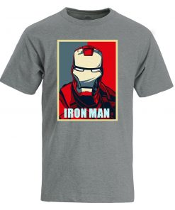 Iron Man T Shirt Men Fashion Brand Tony Stark T Shirt 2019 Summer Casual Cotton Tshirt 3