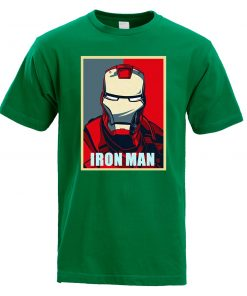 Iron Man T Shirt Men Fashion Brand Tony Stark T Shirt 2019 Summer Casual Cotton Tshirt 4