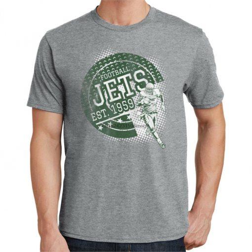 Jets Football T Shirt New York Sports 3178