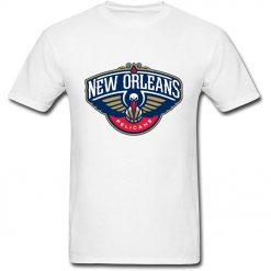 Jinnsa Men s Nab New Orleans Pelican Logo Short Sleeve T Shirt
