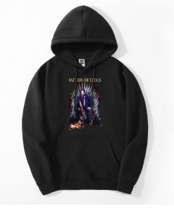 John Wick Mens Hoodies Father Of Dogs Iron Throne Game Of Thrones Hoody Men Fashion Funny 1