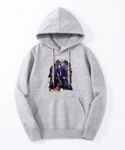 John Wick Mens Hoodies Father Of Dogs Iron Throne Game Of Thrones Hoody Men Fashion Funny 2