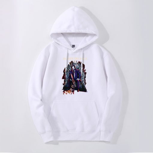 John Wick Mens Hoodies Father Of Dogs Iron Throne Game Of Thrones Hoody Men Fashion Funny 3
