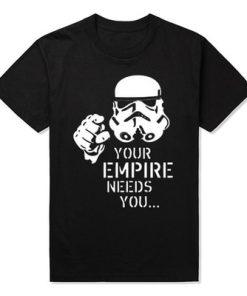 Join the Empire Fashion Star Wars Men T Shirts Short Sleeve Yoda Darth Vader Cartoon Man