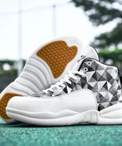 Jordan Shoes Men s Basketball Shoes High Top Anti skid Boots Men Women Sports Shoes Basket 2