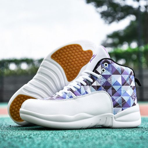 Jordan Shoes Men s Basketball Shoes High Top Anti skid Boots Men Women Sports Shoes Basket 3