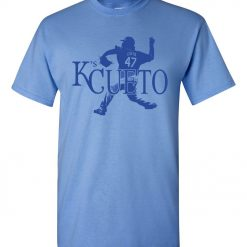K s Cueto Johnny Cueto KC Kansas City Strike Out Royals Men s Tee Shirt 1225RB