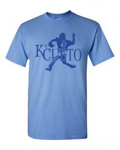 K s Cueto Johnny Cueto KC Kansas City Strike Out Royals Men s Tee Shirt 1225RB