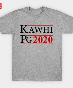 KAWHI PG 2020 T Shirt Clippers Basketball Los Angeles Friends Paul George Support Love Sports Raptors 1