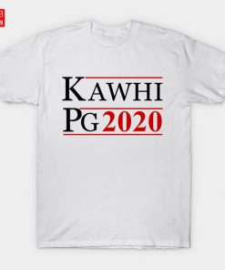 KAWHI PG 2020 T Shirt Clippers Basketball Los Angeles Friends Paul George Support Love Sports Raptors
