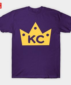 KC Crowned T Shirt Kansas Crown Town Baseball Royals Loyal Fans City Kansas City 3