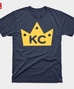 KC Crowned T Shirt Kansas Crown Town Baseball Royals Loyal Fans City Kansas City 4