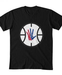 Kawhi Leonard LA Clippers Logo T shirt kawhi kawhi leonard leonard klaw clipper basketball clips la 4