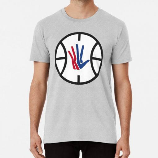 Kawhi Leonard LA Clippers Logo T shirt kawhi kawhi leonard leonard klaw clipper basketball clips la