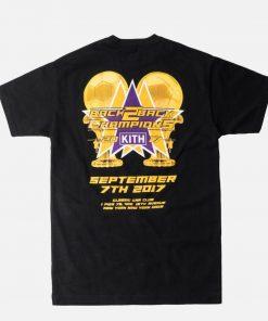 Kith Sport Tee Shirt Black Los Angeles Medium Ronnie Fieg Nyfw 2017 Lakers Unisex Size S 5