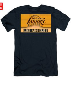Lakers Shadows T Shirt los angeles usa text typography explosion home decor decorative sport illustration poster