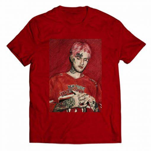Lil Peep New Jersey Devil T Shirt Men T Shirt Women