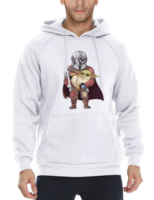 Lovely Baby Yoda Star Wars Men s Hoodies The Child Sports Shirt Christmas Gift The Mandalorian 1