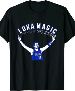 Luka Doncic Luka Magic T Shirt S 3XL 2019 Fashion Man s O Neck Tee
