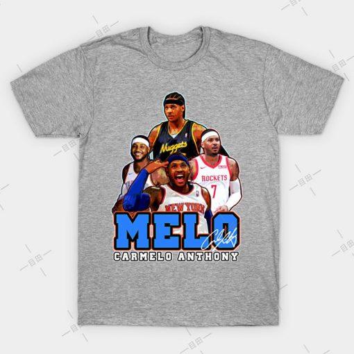 MELO T shirt Carmelo Anthony tee nyc knickstape ny newyork basketball knicks new york melo knickerbockers 2